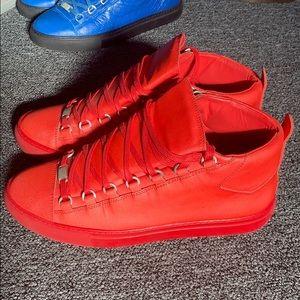 Balenciaga Men's Hightop Arena Sneaker.